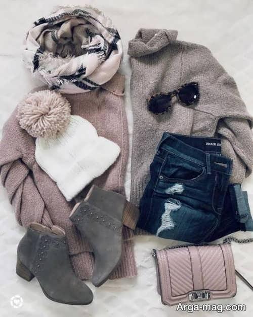 ست لباس زمستانه