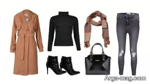 طرح های ست لباس زمستانی زنانه