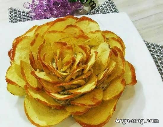 ایده هایی بینظیر و دوست داشتنی از طراحی و دیزاین سیب زمینی سرخ شده