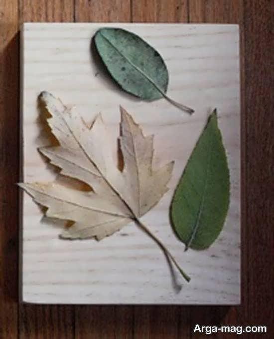 آموزش ساخت تابلو برجسته با چسب چوب و ورق آلومینیومی
