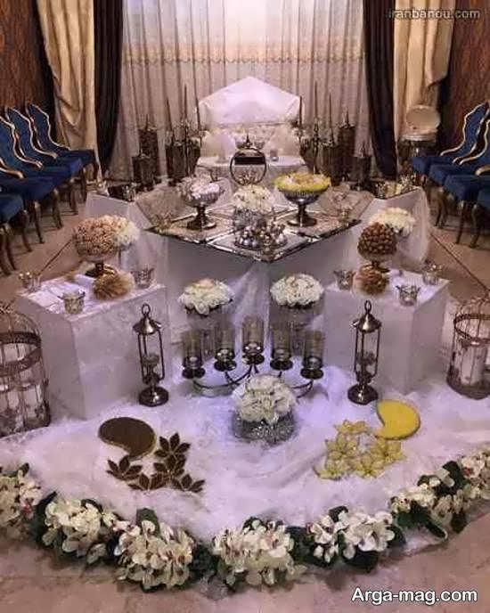 گالری لوکس و زیبایی از سفره عروسی 2021