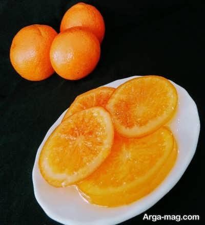 کمپوت پرتقال خوشمزه