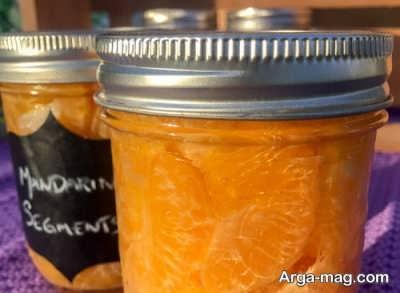 طرز تهیه کمپوت پرتقال در منزل