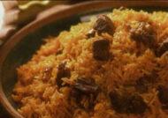 طرز تهیه برنج دیشو