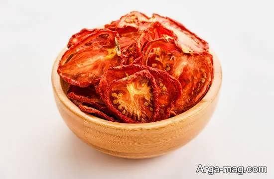آموزش روش های خشکاندن گوجه فرنگی با استفاده از فر و مایکروفر