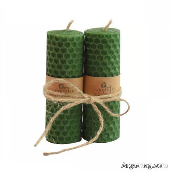آموزش شمع سازی از ورقه های موم عسل