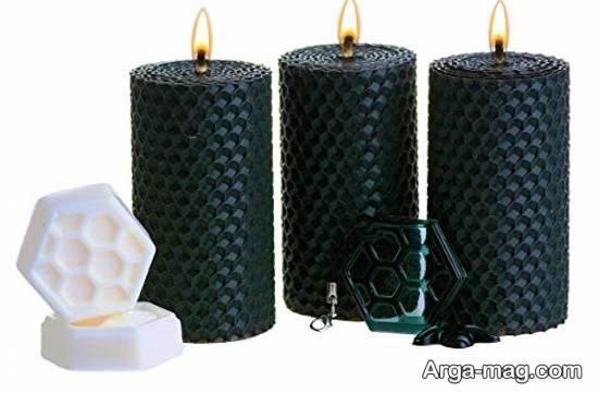 آموزش ساده و آسان شمع سازی با موم عسل