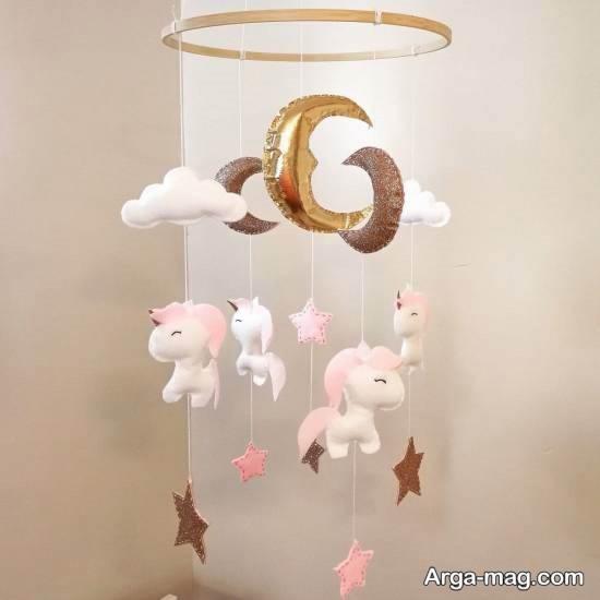 انواع ایده های جذاب دیزاین اتاق کودک با تم یونیکورن