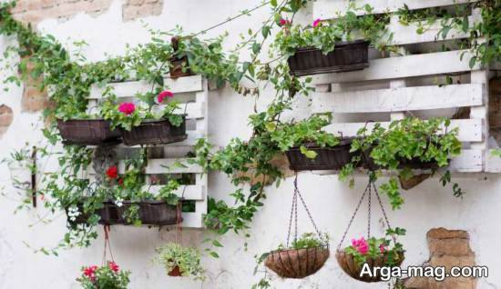 آموزش تولید باغچه دیواری برای تزیین منزل