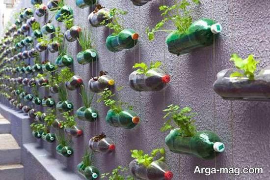 مجموعه ای منحصر به فرد و ایده آل از ساخت باغ کوچک دیواری