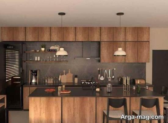 طراحی آشپزخانه با طرح های فوق العاده کابینت ۲۰۲۱