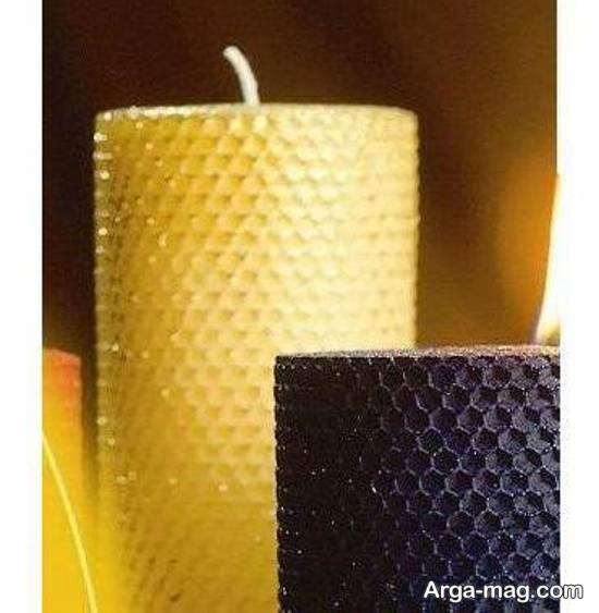 آموزش ساخت شمع با موم عسل