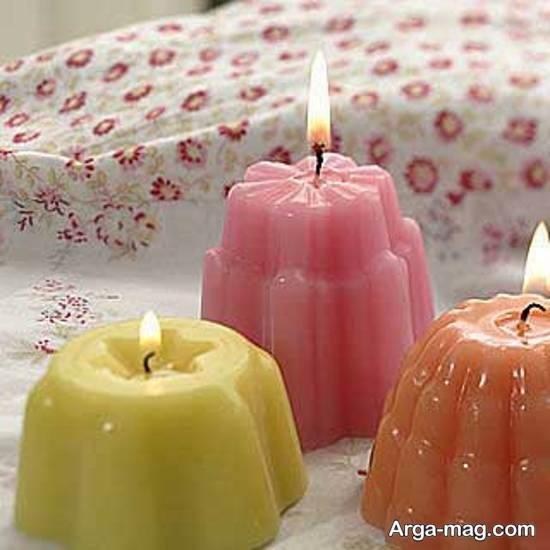 آموزش شمع ساختن با موم عسل به روشی ساده
