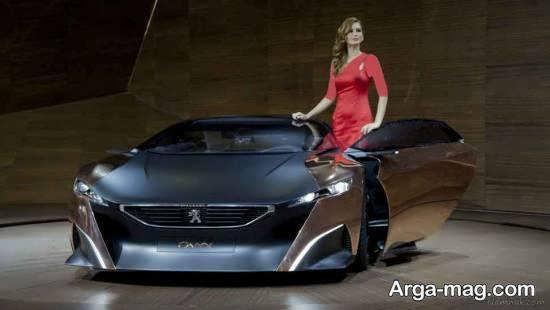 انواع نمونه های فوق العاده و زیبای نمایشگاه اتومبیل