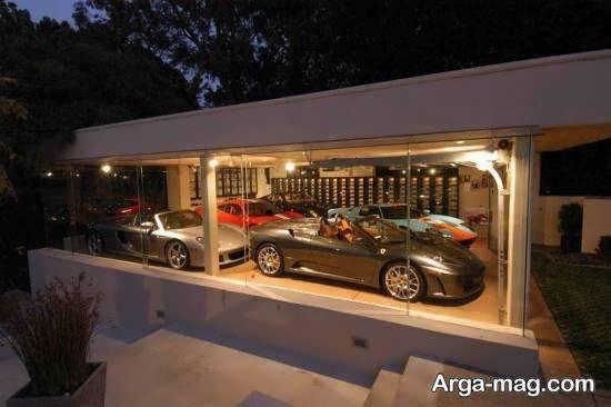 دکوراسیون نمایشگاه خودروها با استفاده از نورپردازی شیک
