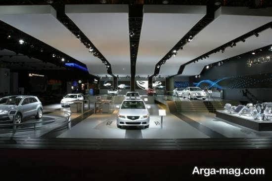 ایده های فوقالعاده ای از دیزاین نمایشگاه اتومبیل