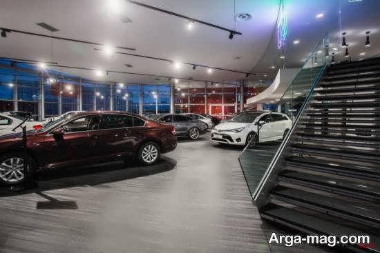 ایده های طراحی و دیزاین متفاوت و ناب نمایشگاه اتومبیل
