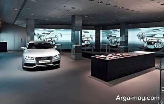 ایده های منحصر به فرد دیزاین نمایشگاه اتومبیل