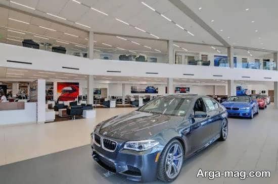 دیزاین جذاب و شیک نمایشگاه اتومبیل