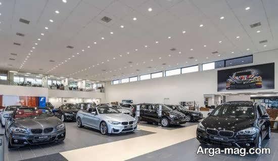 دکوراسیون نمایشگاه خودرو برای جلب توجه بازدیدگنندگان