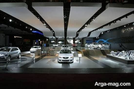 آَنایی بیشتر با دکوراسیون نمایشگاه خودرو