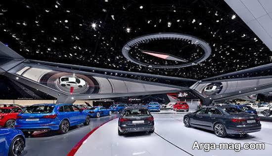 دکوراسیون نمایشگاه خودرو و تاثیر مثبت آن بر روی فروش