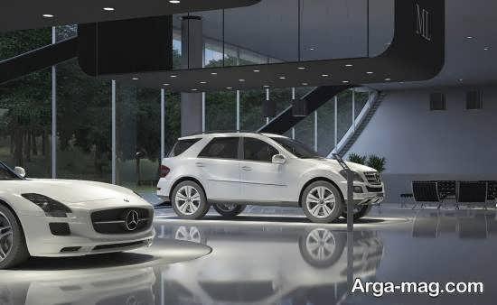 طراحی و دیزاین متفاوت و متنوع نمایشگاه اتومبیل