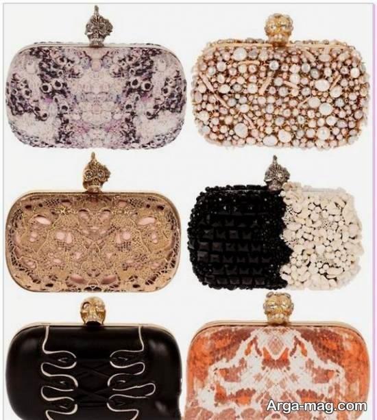 مجموعه ای زیبا و متفاوت از نمونه های کیف کلاچ