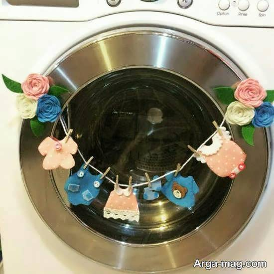 ایده های خاص و خواستنی از تزیین ماشین لباسشویی عروس
