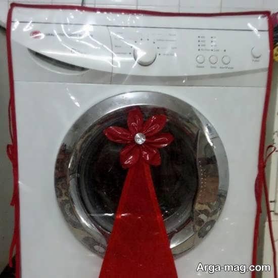 تزیینات زیبای ماشین لباسشویی عروس