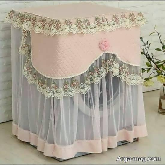 ایده های زیباسازی ماشین لباسشویی جهیزیه عروس