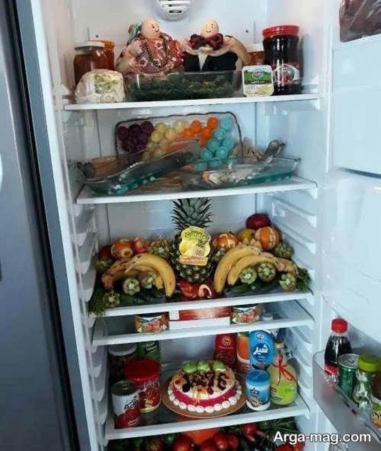 تزیینات مدرن و لاکچری یخچال عروس ۲۰۲۱