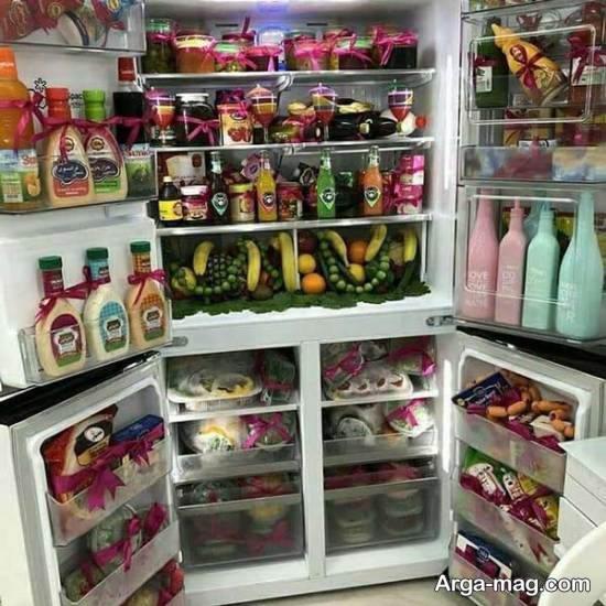 نمونه هایی بینظیر و دوست داشتنی از تزیینات یخچال عروس ۲۰۲۱