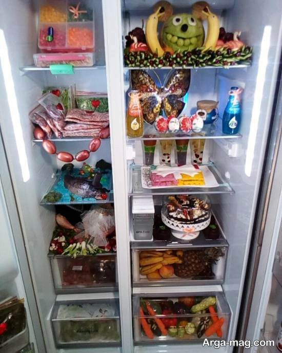گالری بینظیر و جذابی از تزیین یخچال عروس ۲۰۲۱