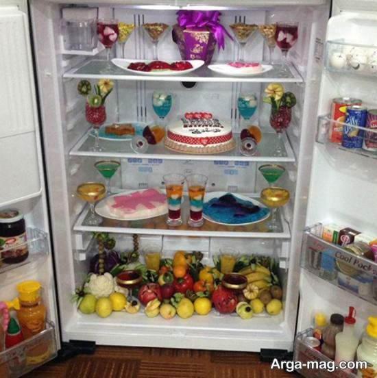 نمونه هایی خاص از طراحی یخچال عروس ۲۰۲۱