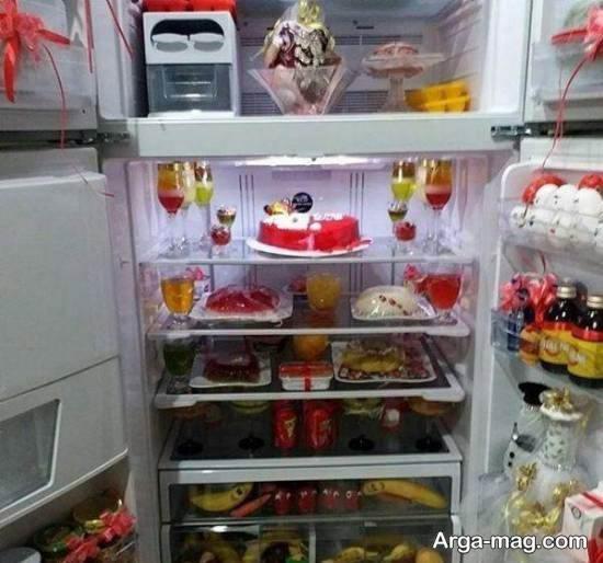 انواع نمونه های جذاب تزیینات یخچال عروس ۲۰۲۱