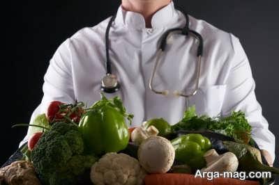 خصوصیات رژیم غذایی بیماران کرونایی