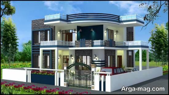 ایده هایی زیبا و جذاب از نمای خانه دوبلکس