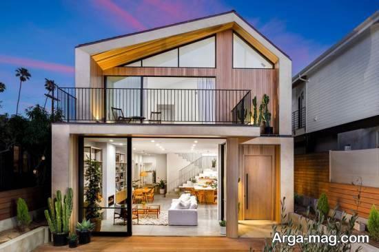 ایده هایی فوق العاده از نمای منزل دوبلکس