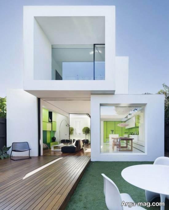 ایده هایی شیک و لاکری از نمای خانه دوبلکس