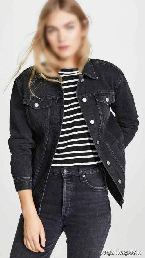کت دخترانه رنگ تیره