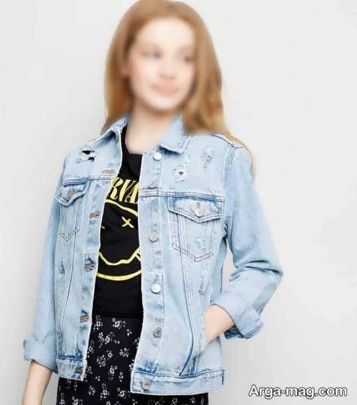 کت رنگ روشن دخترانه