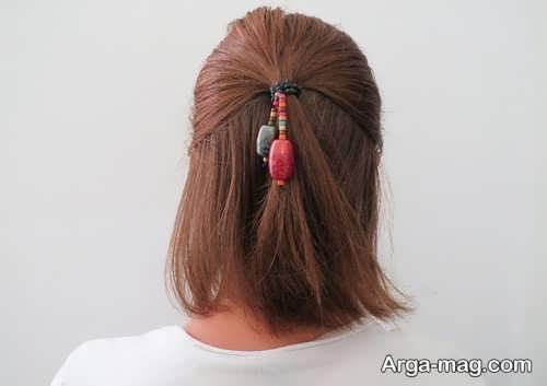 ترفندهای بستن مو با روش های آسان و شیک