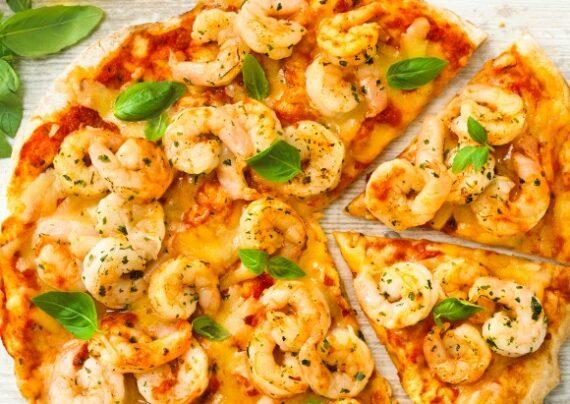 آموزش طرز تهیه پیتزای میگو