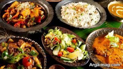 طرز تهیه سه مدل از غذاهای هندی