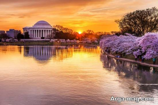 طبیعت زیبای واشنگتن