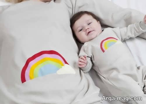 لباس مخصوص نوزاد و مادر
