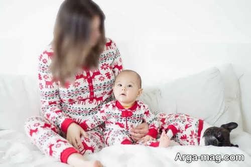 ست لباس برای مادر و نوزاد