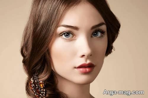 آرایش طبیعی و زیبا زنانه