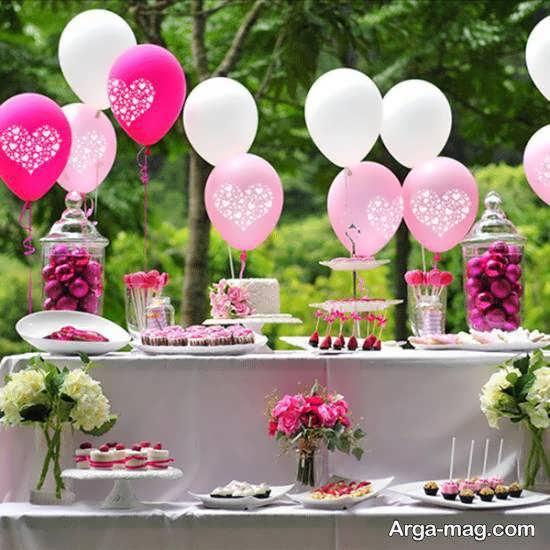 تم تولد محیط باز برای انواع جشن های تولد مختلف